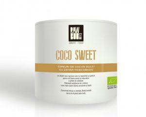 Coco Sweet chipsuri Raw Boost 125 grame