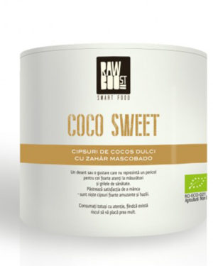 Coco Sweet chipsuri Raw Boost 125 grame