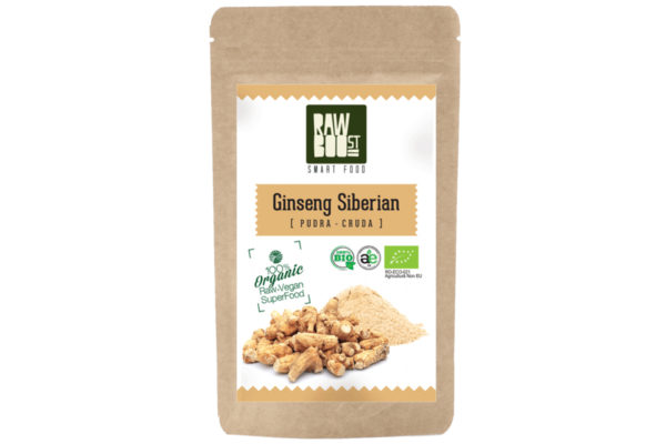 Ginseng Siberian pudră Raw Boost 100 grame
