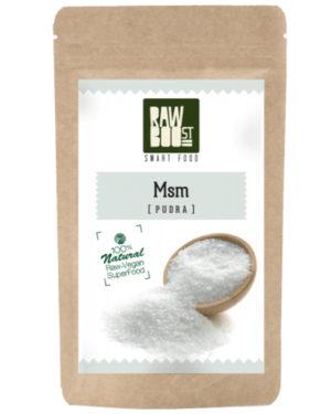 MSM pudră Raw Boost 250 grame