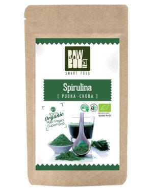 Spirulină pudră Raw Boost 125 grame