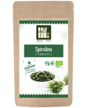 Spirulina tablete Raw Boost 125 grame