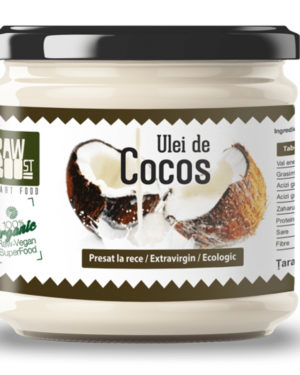 Ulei de cocos virgin Raw Boost 380 ml