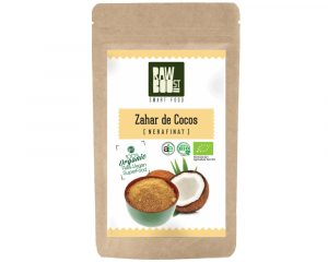 Zahăr de cocos nerafinat Raw Boost 250 grame