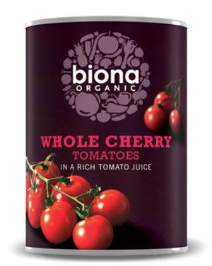 Roșii cherry la conservă bio 400g