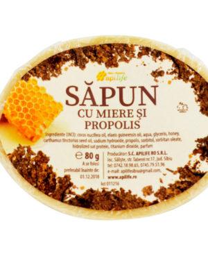 Săpun cu miere şi propolis Apilife 80 gr