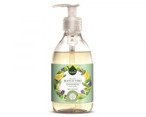 Săpun lichid ecologic antibacterian cu lavandă și Vitamina E 300ml