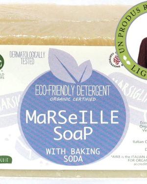 Săpun solid de Marsilia ecologic pentru rufe 140g
