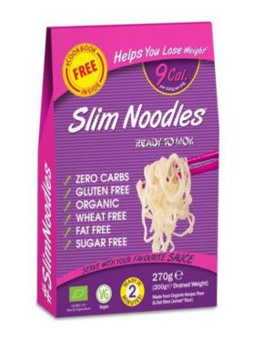 Taitei Bio Slim Noodles din făina de Konjac 270 grame