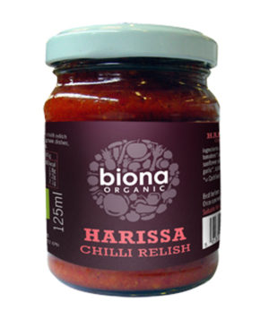 Sos chilli Harissa bio 125ml