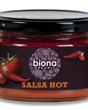 Sos salsa dip hot bio 220g