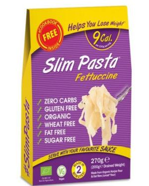 Fettucini BIO Slim Pasta din făina de Konjac 270 grame