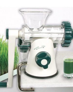 Storcător manual prin presare la rece Healthy Juicer green
