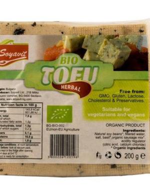 Tofu Bio cu verdeţuri Soyavit 200 g