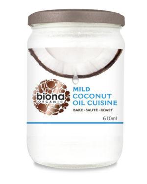 Ulei de cocos dezodorizat pentru gătit bio 610ml