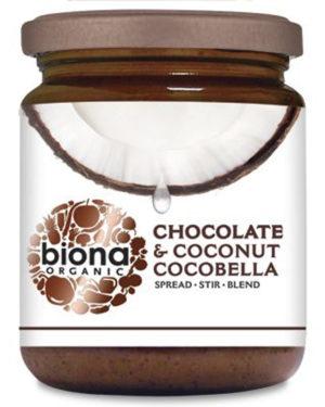 Unt de cocos cu ciocolată CocoBella bio 250g