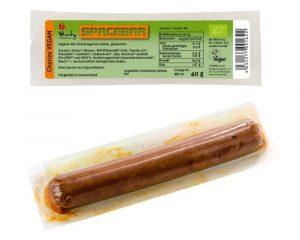 Baton Bio Wheaty din seitan chorizo 40 grame