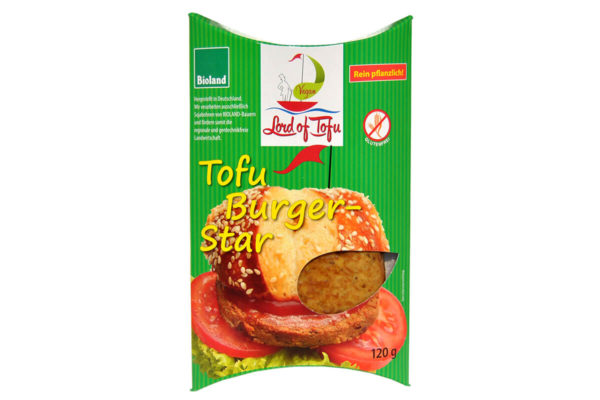 Burger vegan pe bază de tofu, Lord of Tofu, 120 gr