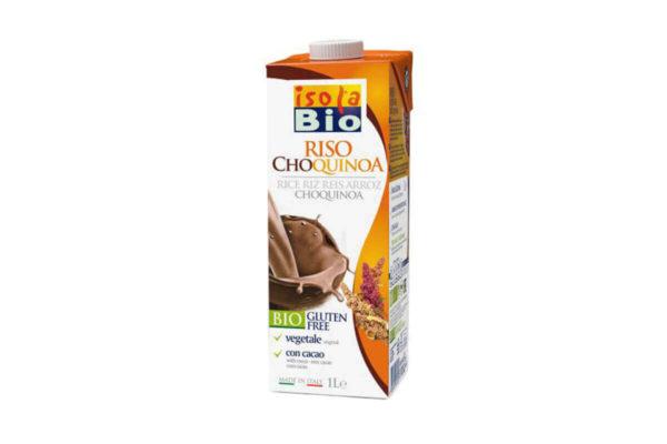 Băutură bio din orez, quinoa și cacao Isola Bio 1 litru
