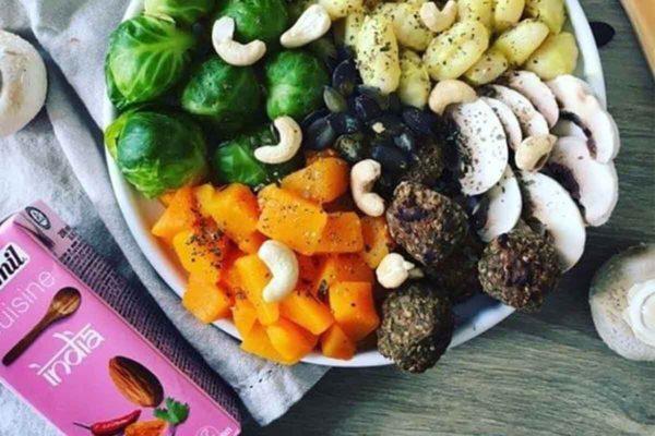 Cremă vegetală bio pentru gătit India Ecomil 200 ml